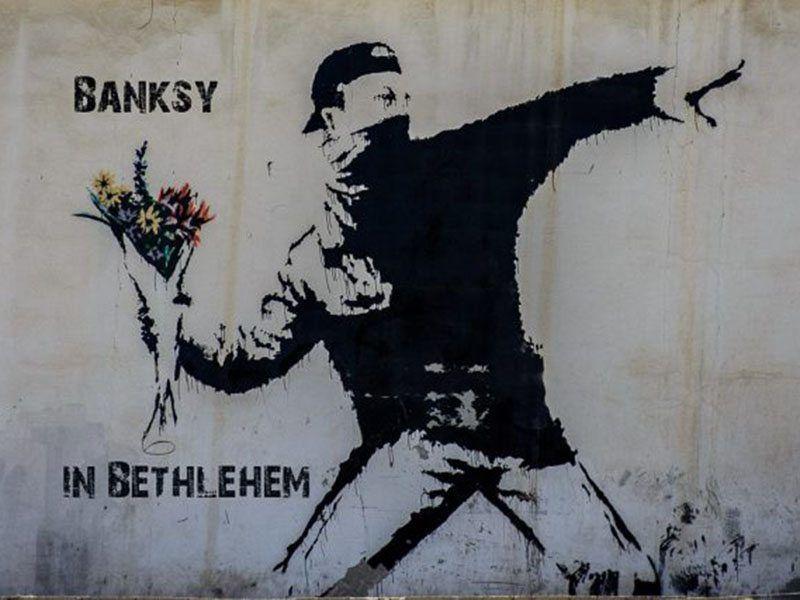 Banksy Graffiti Bethlehem