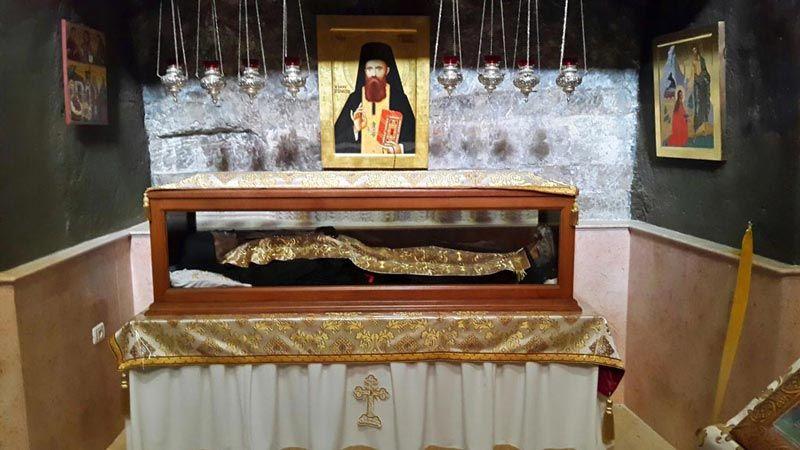 St George Monastery St John Body