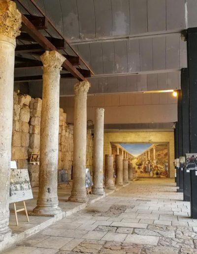 Cardo Street in Jerusalem